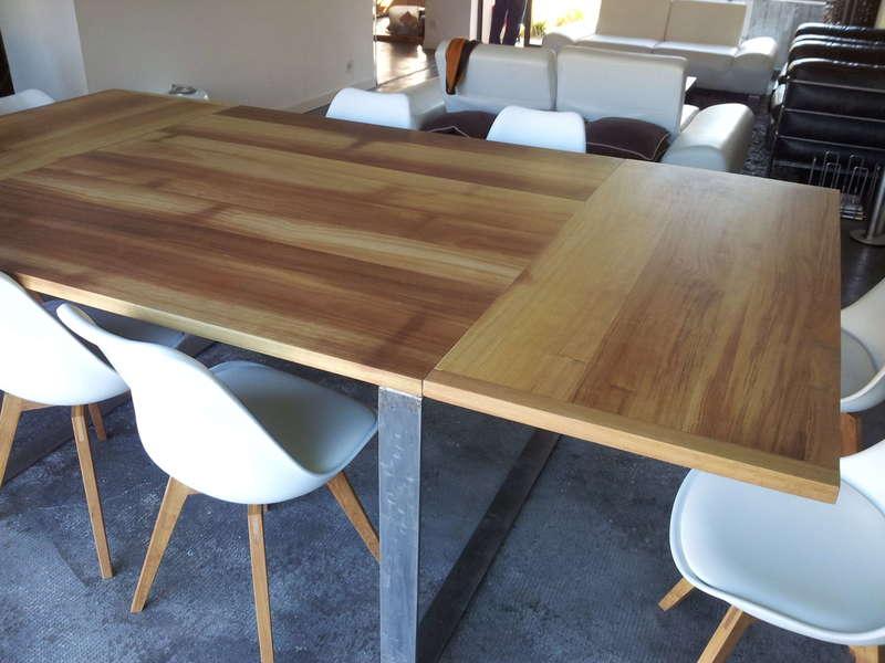 Table bois et fer