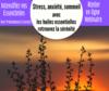Webinaire : Stress, anxiété, troubles du sommeil, retrouvez la sérénité avec les huiles essentielles