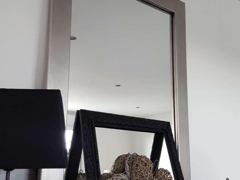 Miroir Cadre Inox  60x80xcm. 180€