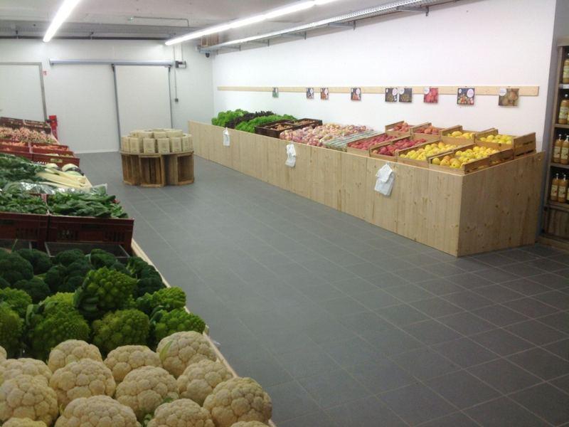 Habillage meubles fruits et légumes - Les Paysans de L'ouest