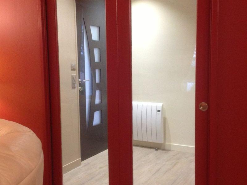 Porte scrigno intérieure - vitrée à 2 vantaux