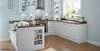 Sopenh - Cuisines haut de gamme et luxe - modèle MONTFORT RAINURÉ BLANC