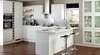Sopenh - Cuisines équipées haut de gamme et luxe - modèle BRÉVAL BLANC BRILLANT