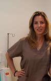 Caroline Roux, infirmiere hydrothérapeute à Cannes