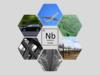 Usages dans le monde illustrés de l'élément Niobium