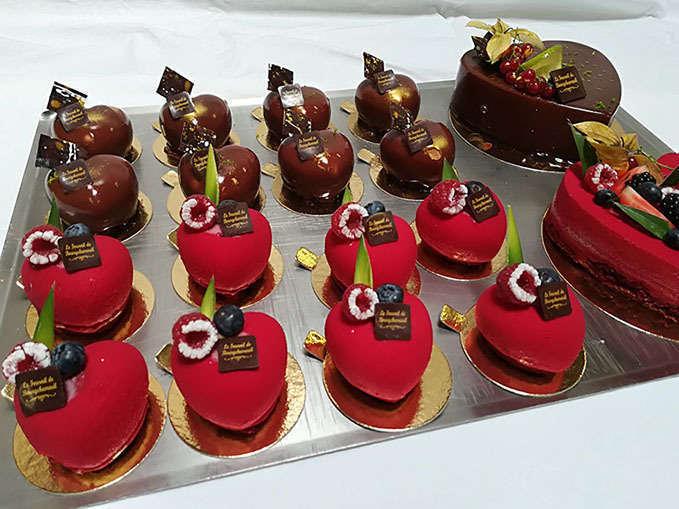 Gâteaux st Valentin