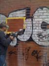 graffiti sur facade