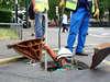 Débouchage d'égout à Paris 2 (75002) par ART Plomberie, plombiers professionnels