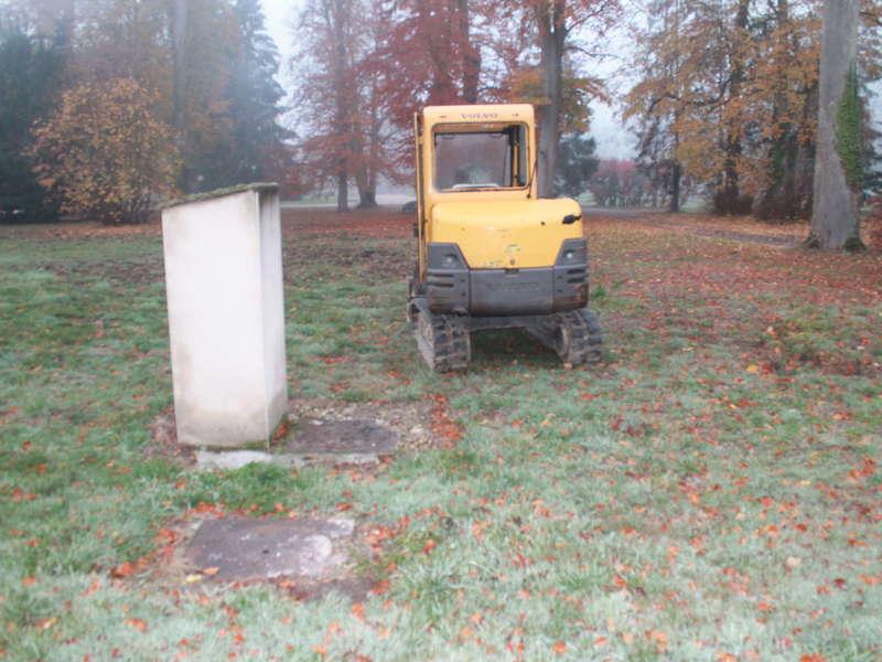 Installation d'une micro station  27 EH en deux cuves béton 2 x 10 000 L.