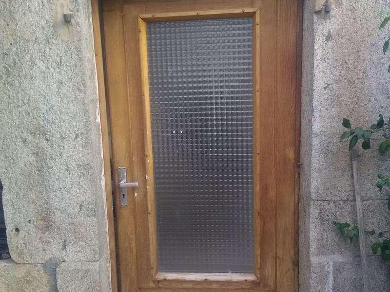 Porte vitrée en bois AVANT à Chenex 74520