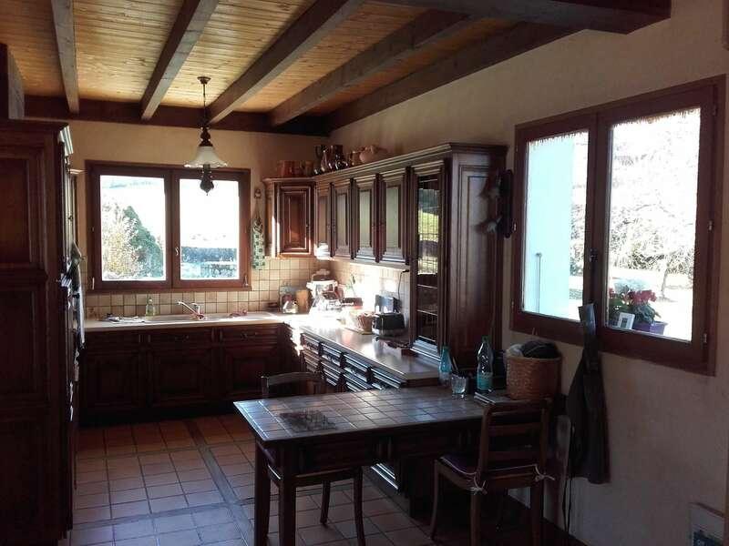 AVANT : Fenêtres bois 2 vantaux