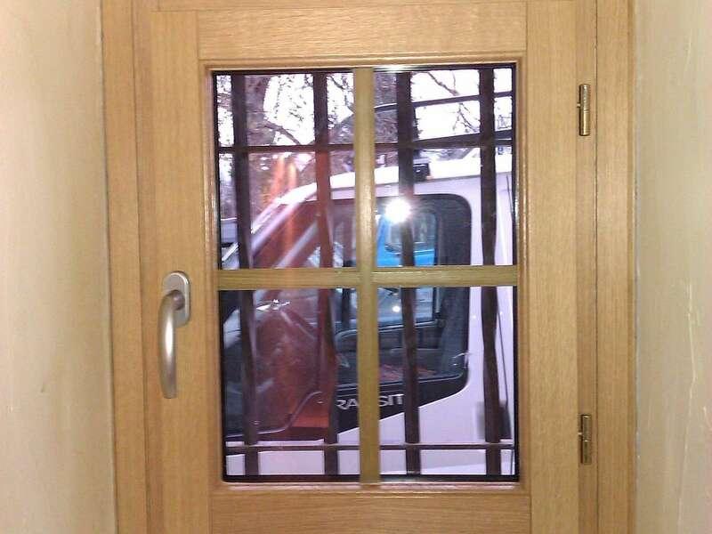 Fenêtre mixte (bois/alu) avec petit-bois
