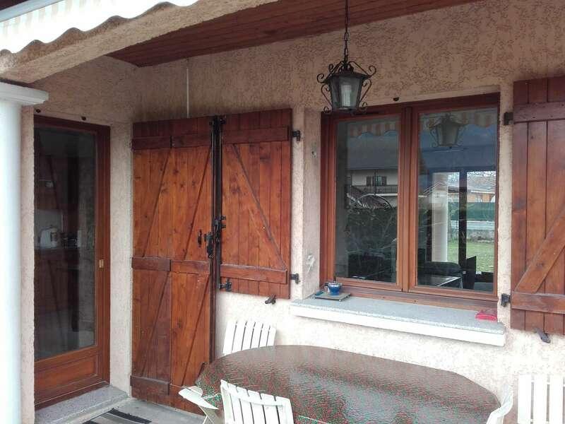 Avant : fenêtre bois 2 vantaux