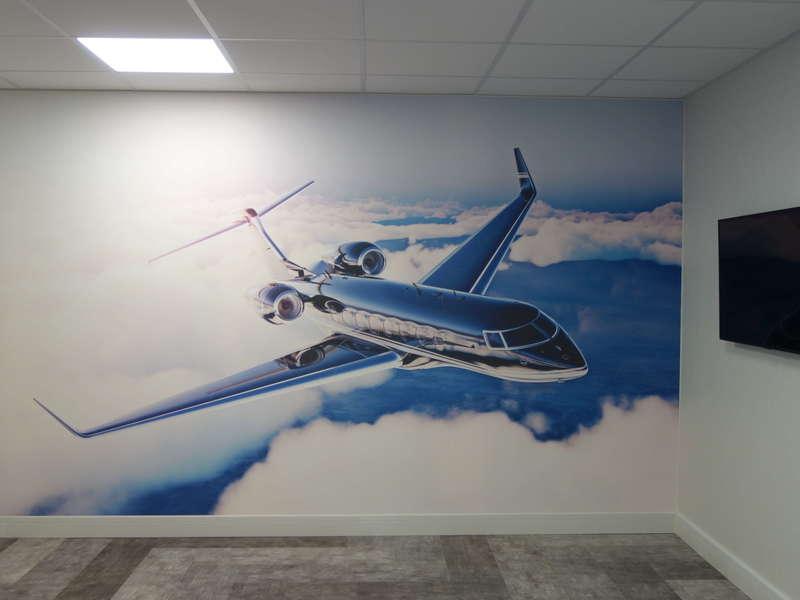 mur tendus avion Guingamp