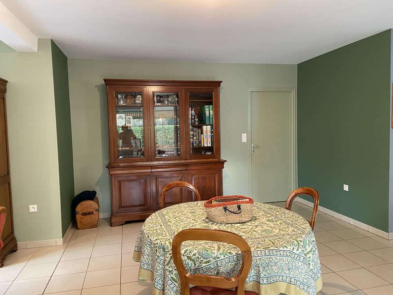 salle a manger, peinure vert