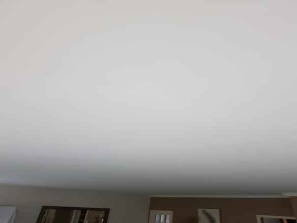 Plafond après travaux