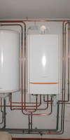 Burdin Plomberie, Chauffage au gaz à Bassens