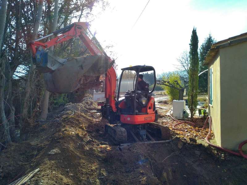 Extraction ancienne Fosse Septique