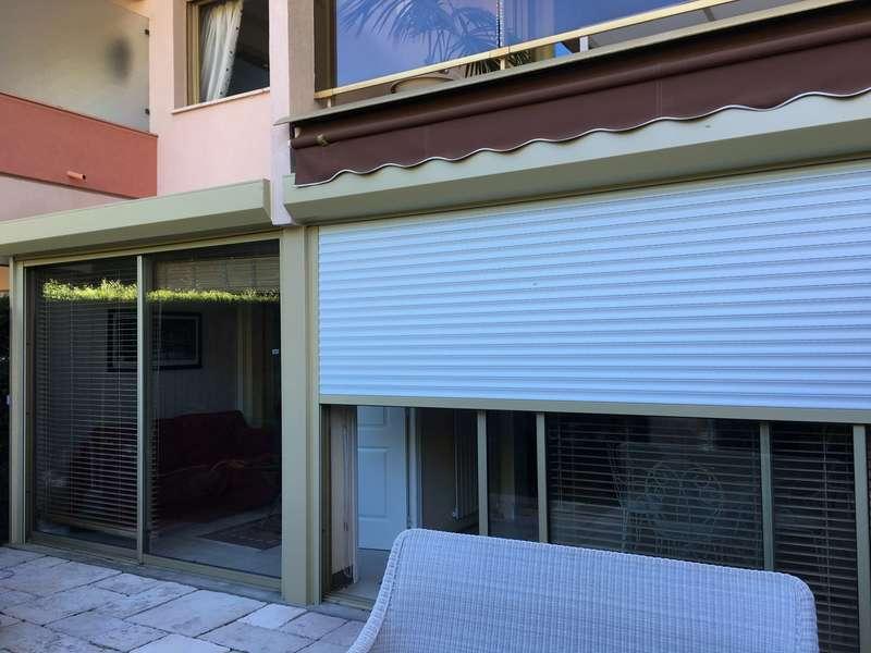 Volets roulants Blindés Alulux Somfy posés à Cannes Isola Bella