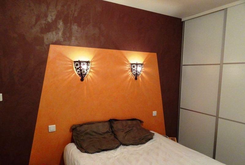 Mur + tête de lit Stucco Sinfonia