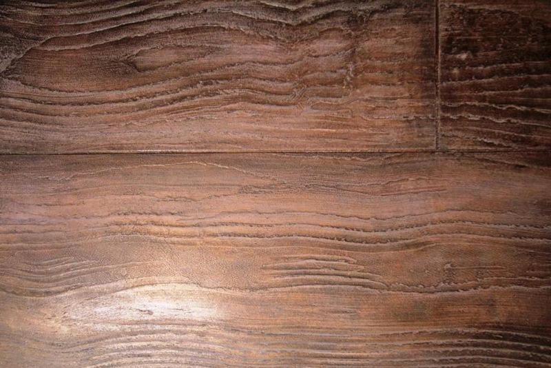 Béton Minéral effet bois