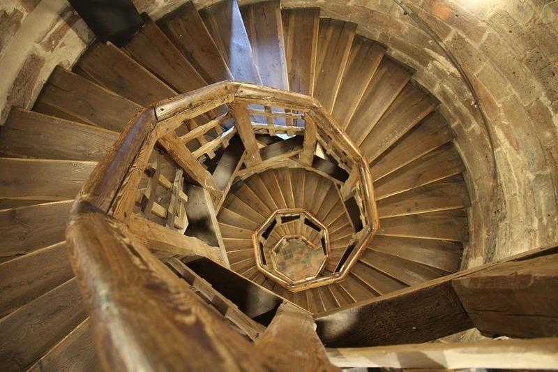 escalier colimaçon en bois paris