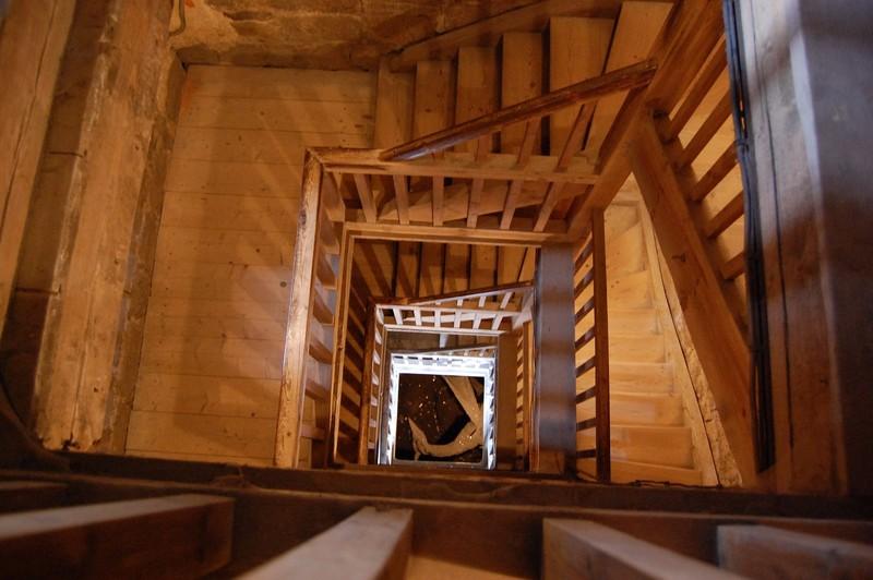 Escalier immeuble paris