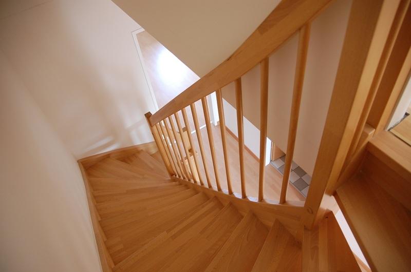 Escalier bois hêtre