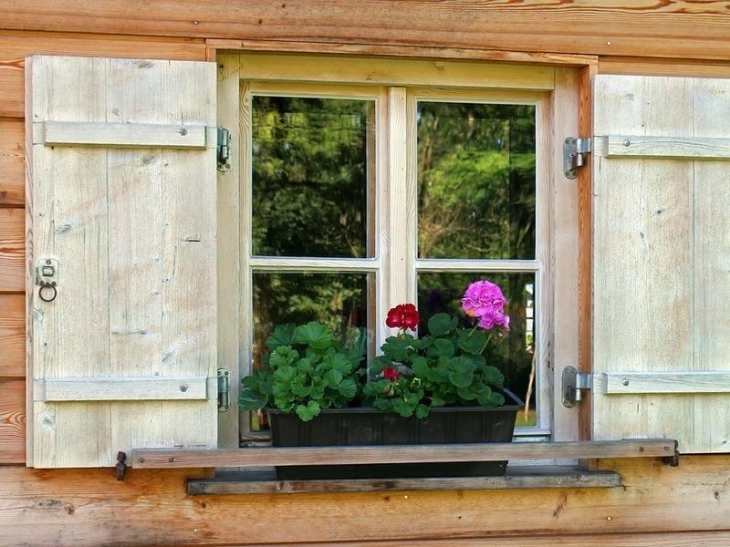 Fenêtres rustique