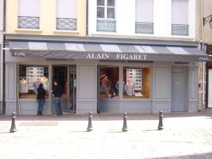 façade magasin pour vitrine de vente