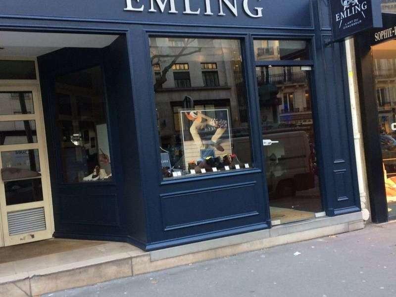 Double ouverture façade commercial