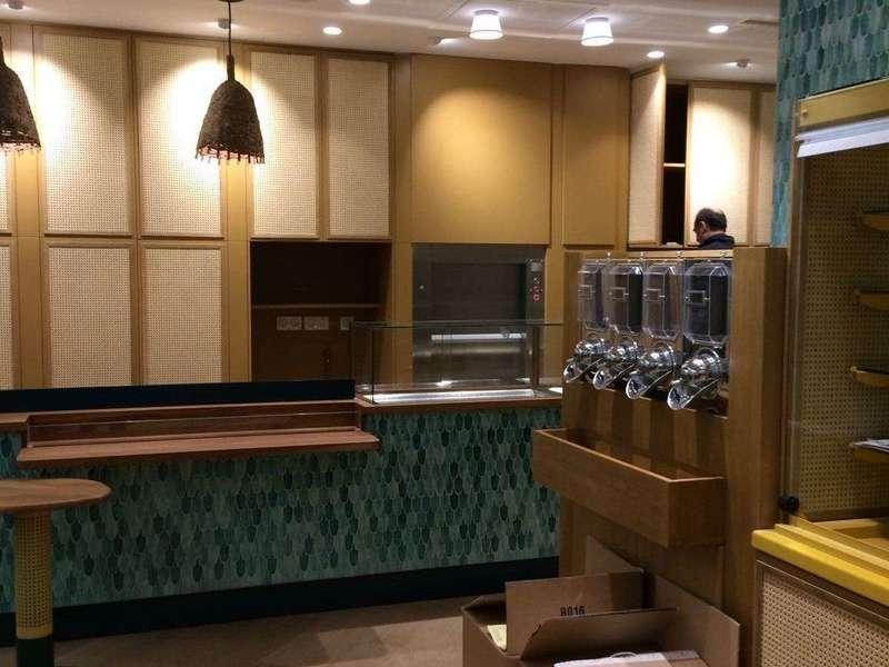 meubles restaurant bois paris