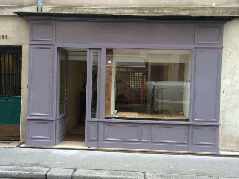 façade bois avec moulure à la française