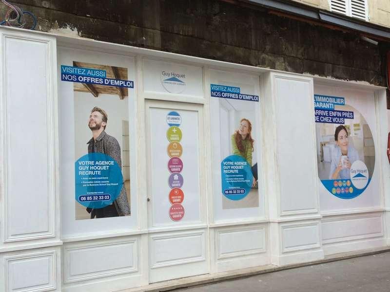 moulure à la française pour façade magasin