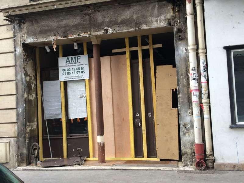 Démolition de l'ancienne façade