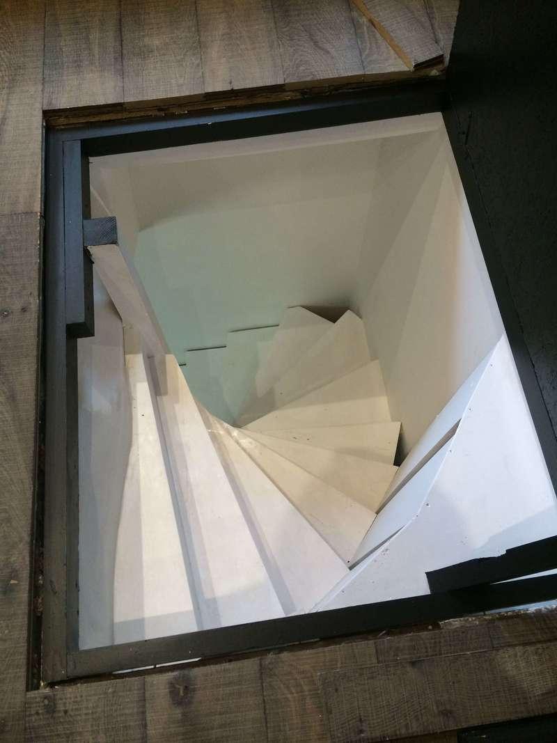 trappe d'escalier