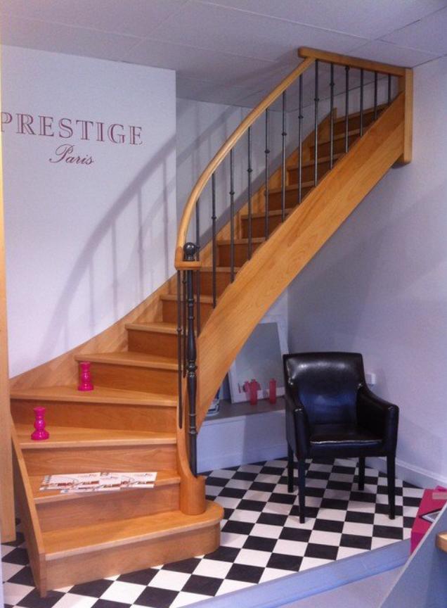 escalier en bois 75
