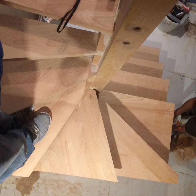 escalier bois paris