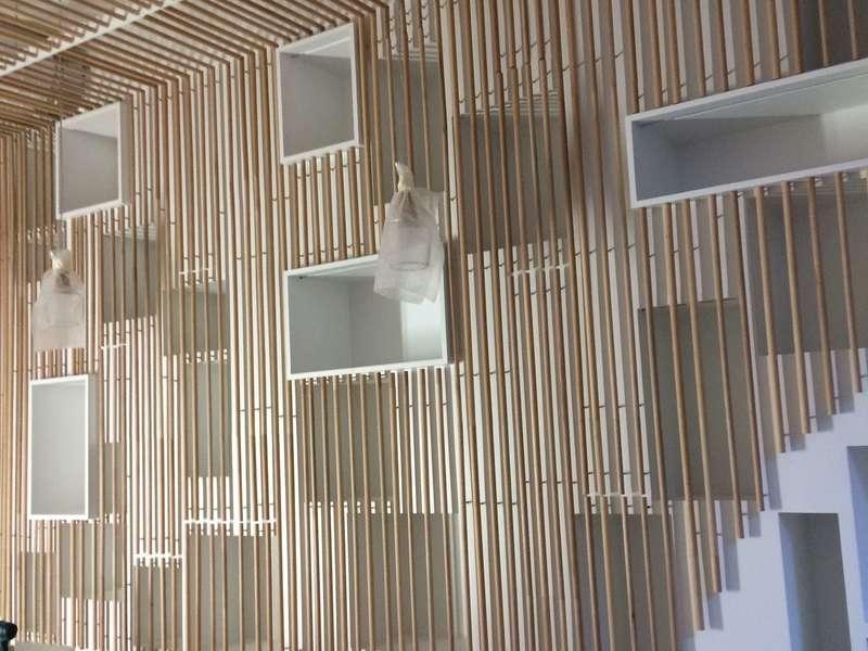 bibliothèques en bois sur mesure