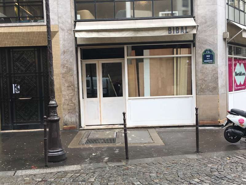 façade magasin paris