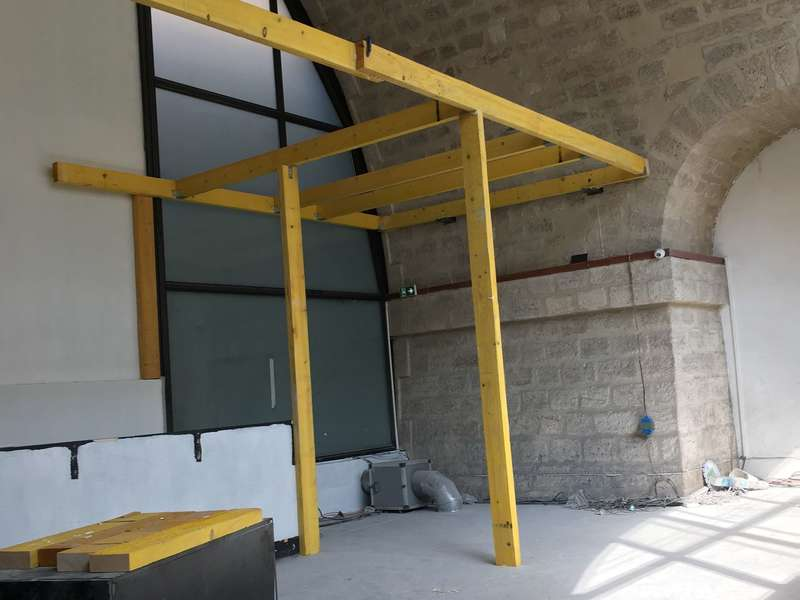 mezzanines suspendues