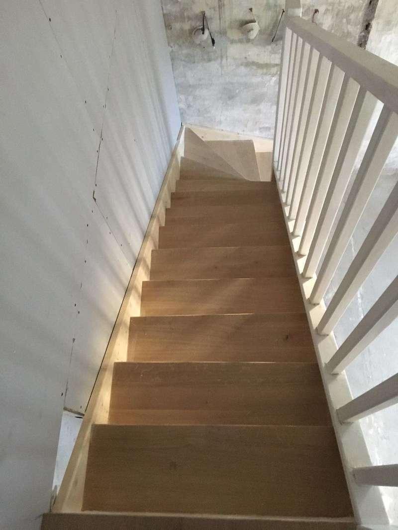 rampe escalier bois paris