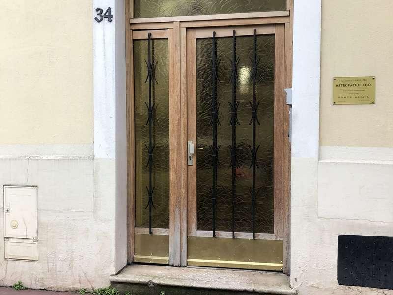 Porte d'entrée paris