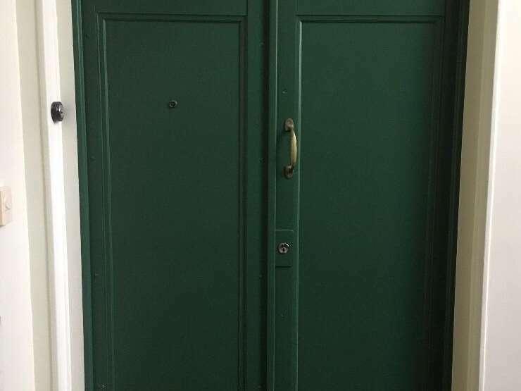 Double porte d'entrée