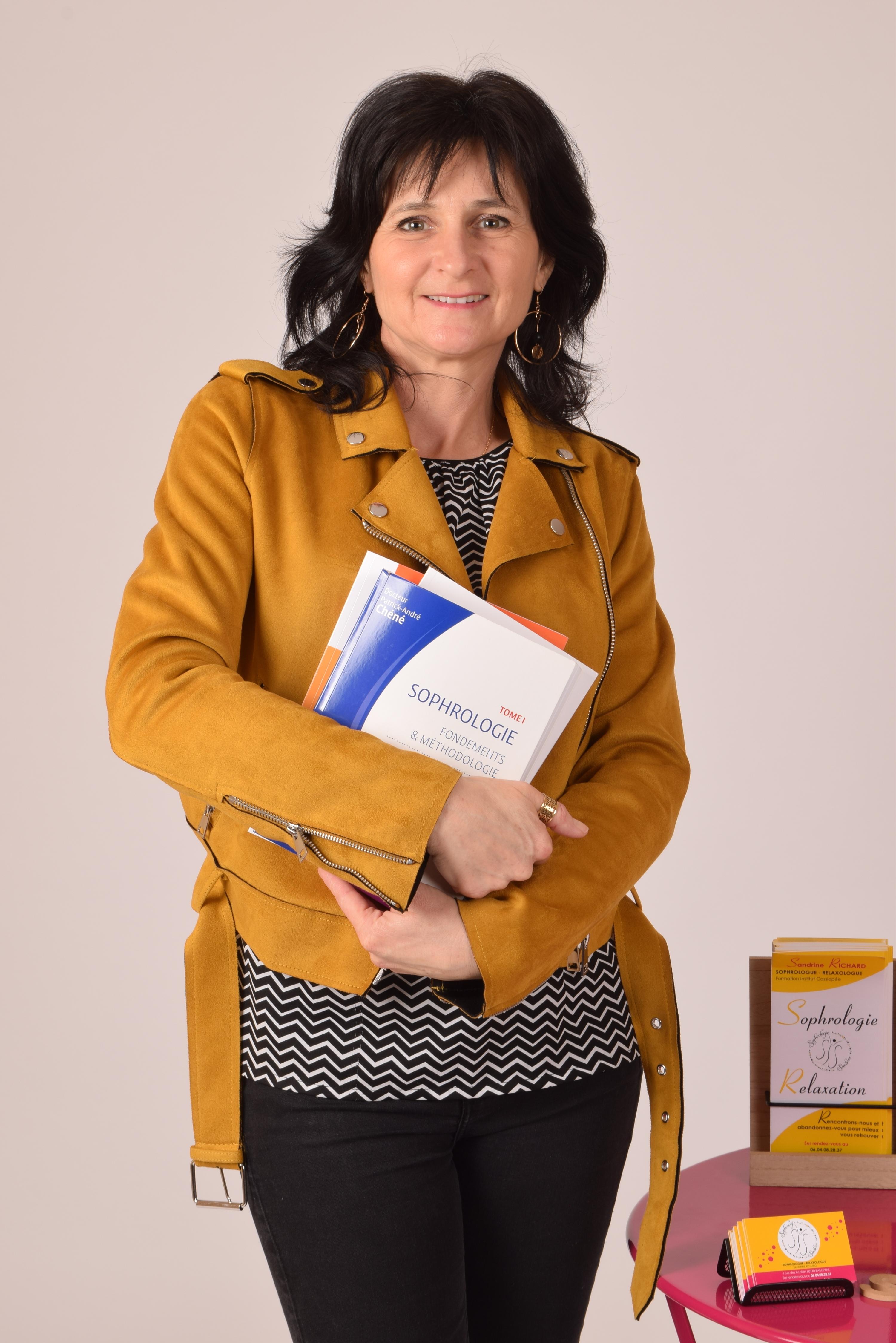 Sandrine Richard, sophro-relaxologue à Bailleval