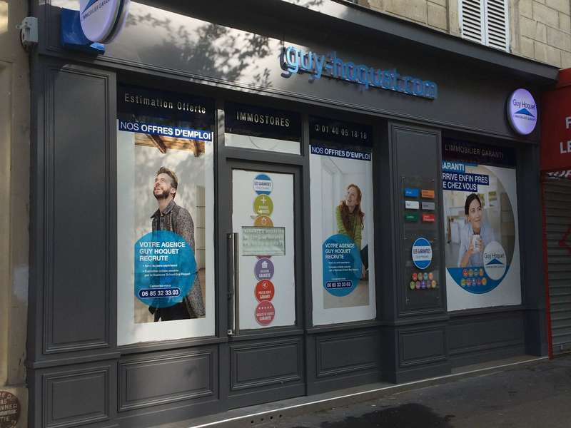 habillage facade paris 12