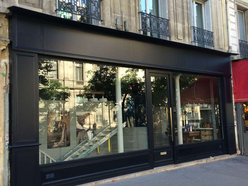 habillage facade paris 11