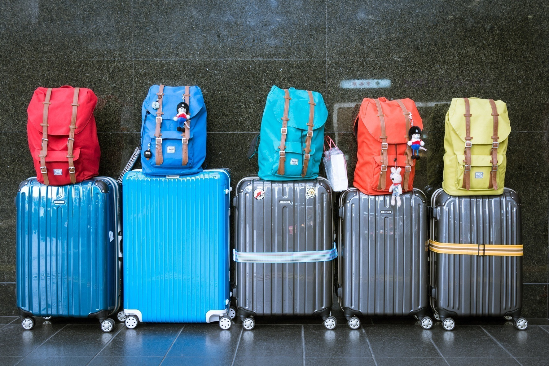 Les punaises de lit se cachent dans les bagages