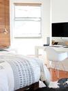 la chambre est la pièce la plus souvent colonisée par les puces de lit
