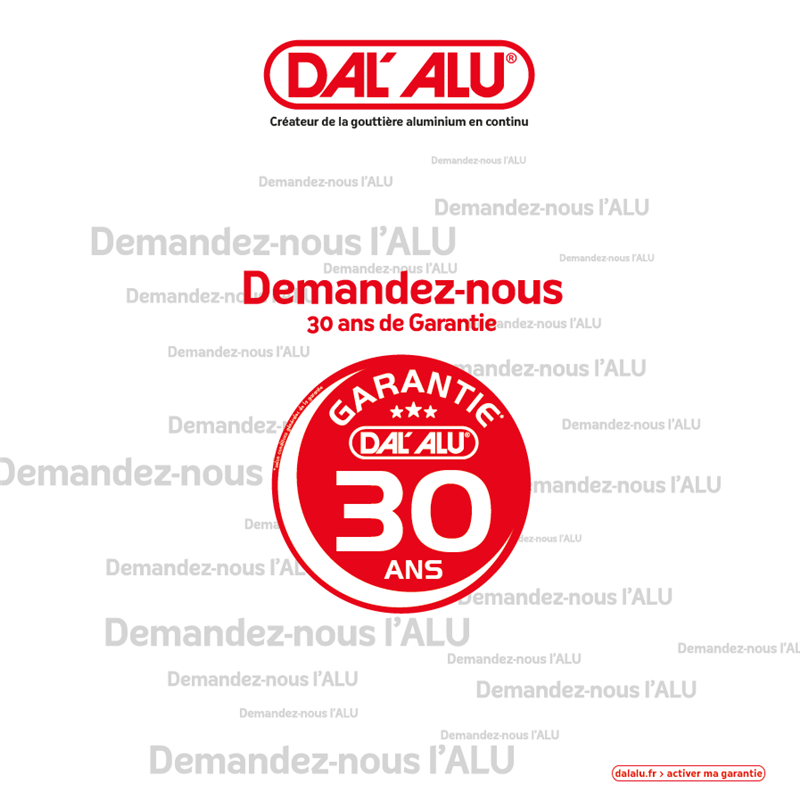 Dalles alu en Vendée Garanties 30 ans